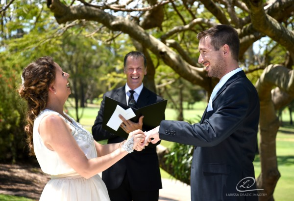 Jamie + Cara - Brisbane City Celebrants