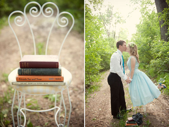 WI engagement photography : Vintage Love