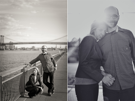 Anna and Ben / New York City Engagement Photographs
