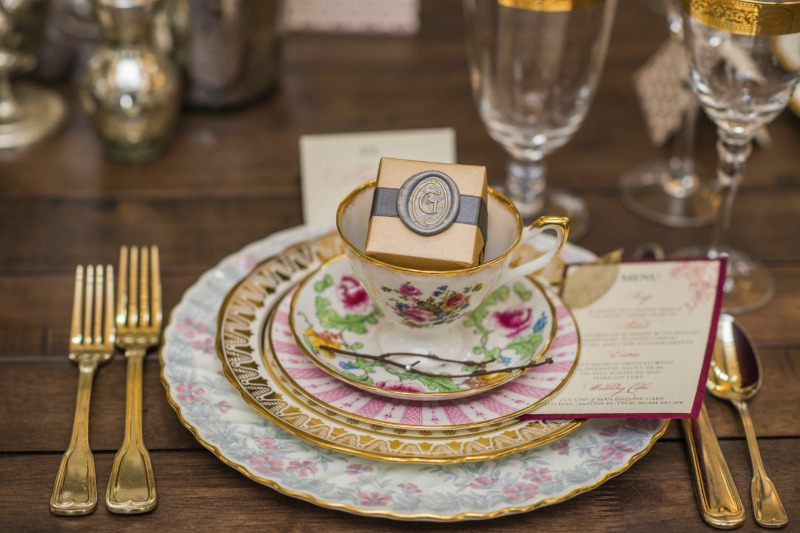 Inspiration Image from Vintage English Teacup