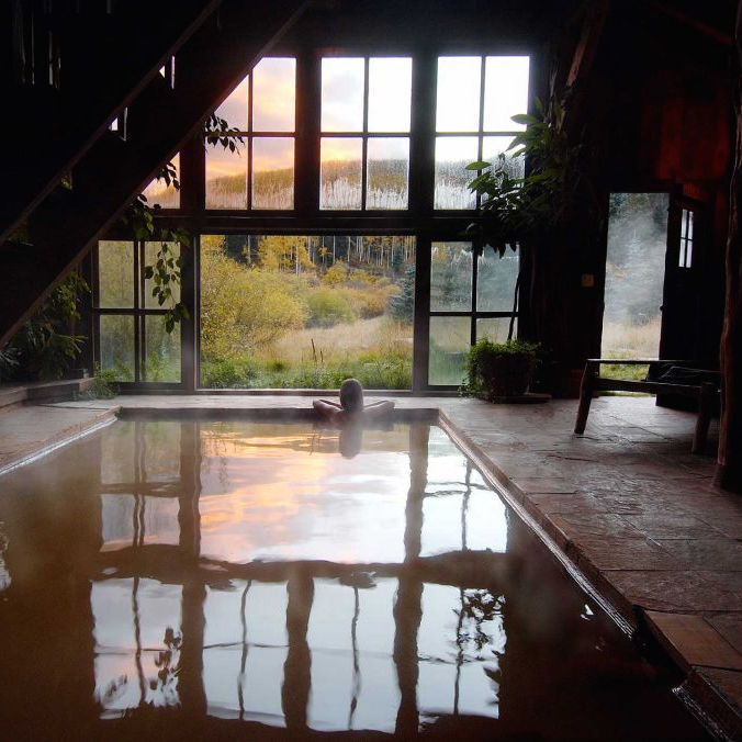 Inspiration Image from Dunton Hot Springs