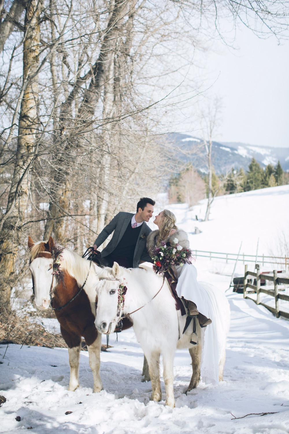 Trending - White Winter Wedding Ideas Will Warm Your Heart