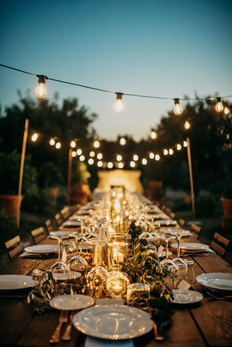 Inspiration Image from Tuscan Wedding