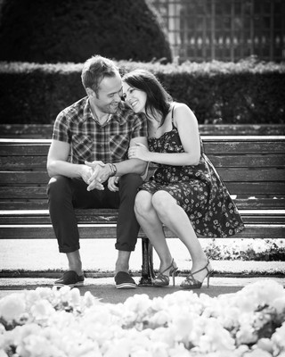 Black and White Engagement Photos Are About to Blow Up