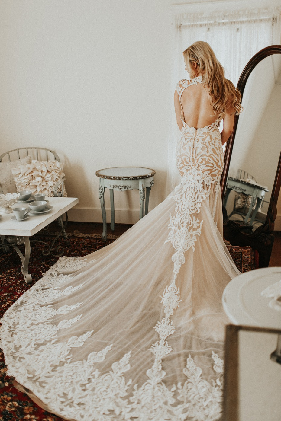 Stunning Calla Blanche wedding dress