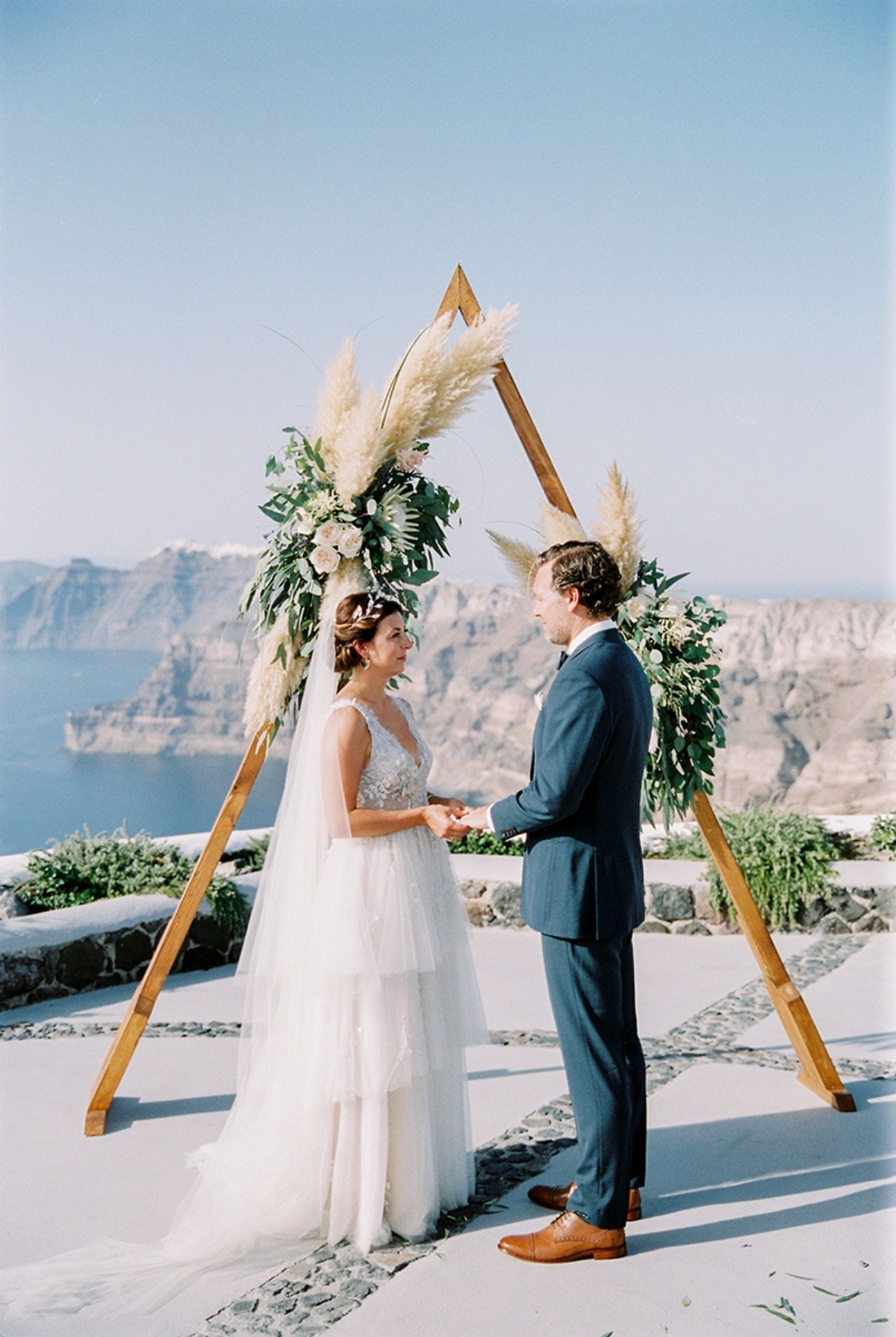 Tie the Knot in Santorini-Weddings & Events