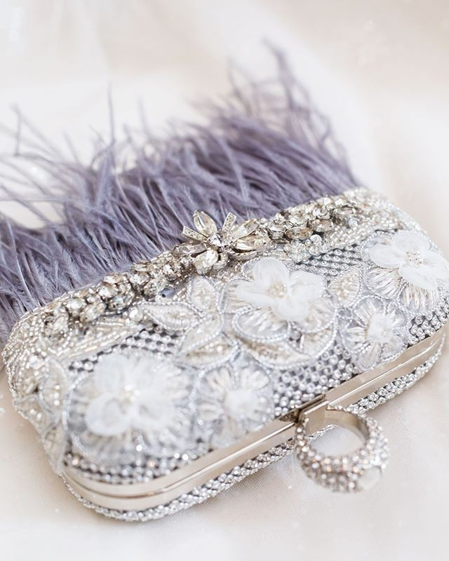 The perfect #motherofthebride evening clutch