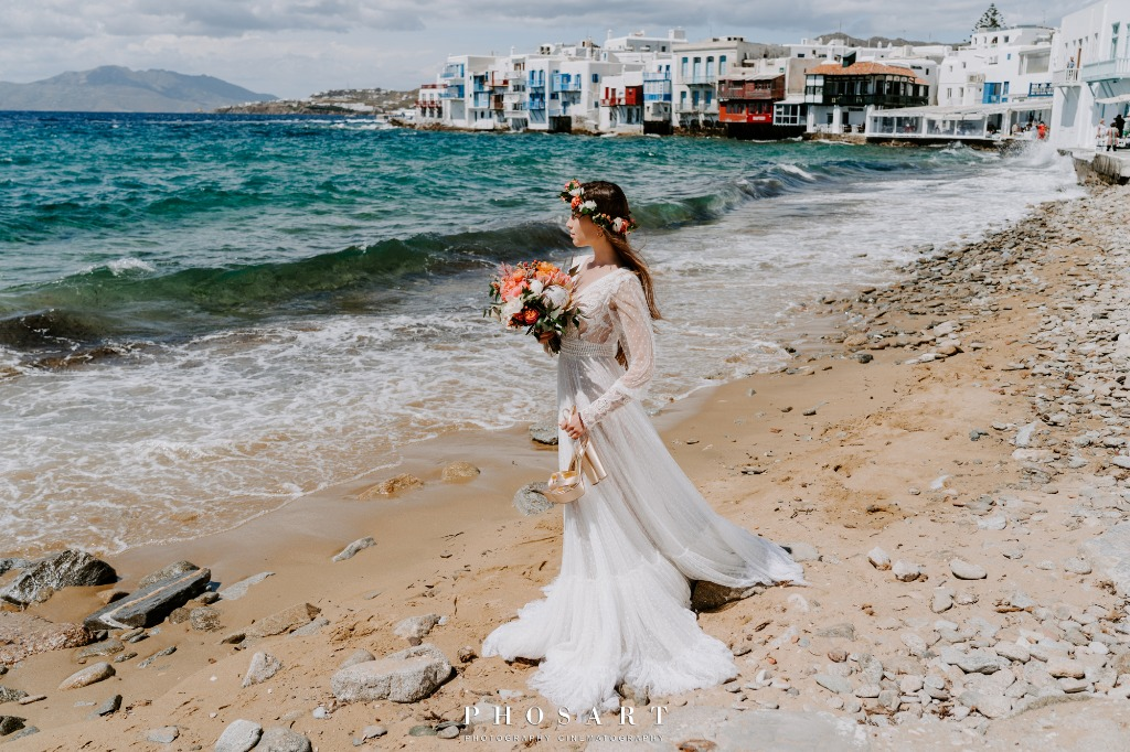 Wedding Day in Mykonos!