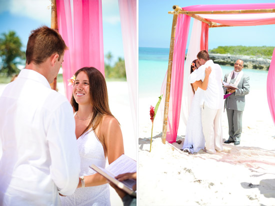 Bahamas Wedding Picture