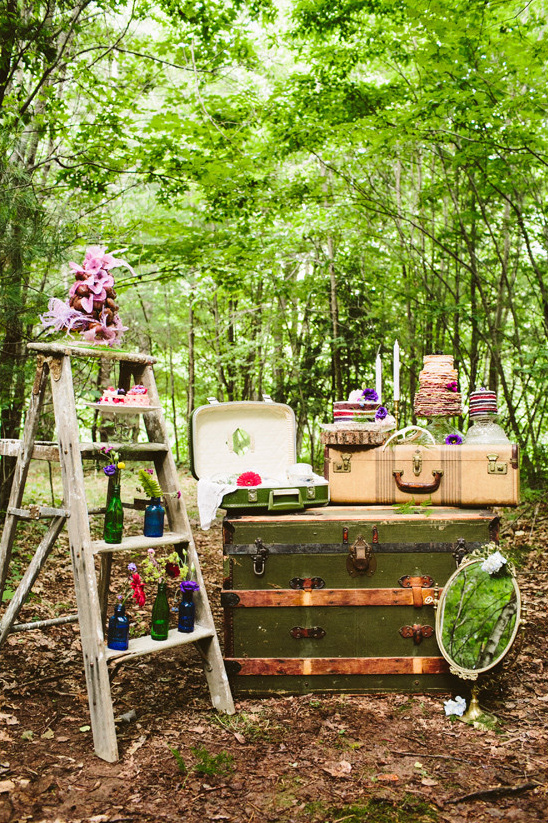 Blog Alternative Vintage Forest Wedding