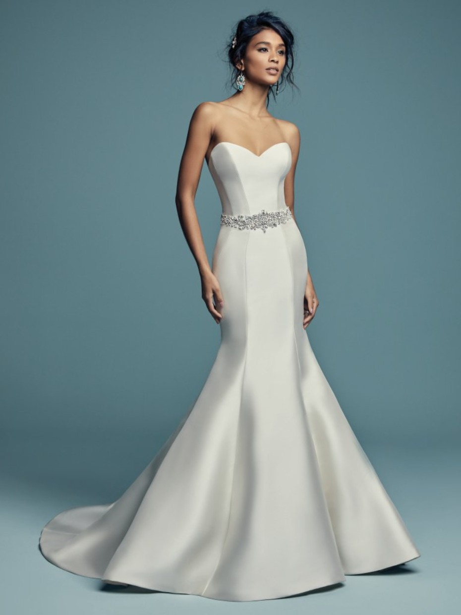 Maggie Sottero sweetheart wedding gown